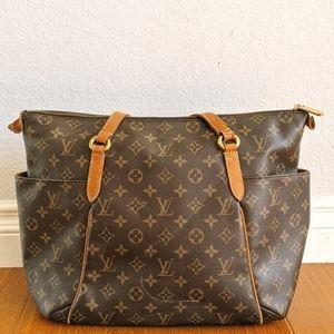 Louis Vuitton Tote Bag Totally MM Browns Monogram